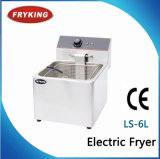 Ls-6L Factory in Guangzhou Commercial Fried Fryer