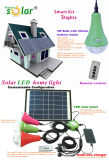 CE and Patent Portable Solar Light for Home/Camping, LED Solar Light Kit, Solar Lighting System