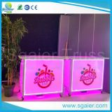 Outdoor Design Commercial Acrylic Folding Lighted Mini Bar Counter for School and Shop