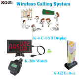 Wireless Calling Syatem Hotel Order Touchpads Restaurant Wireless Service Calling System PC