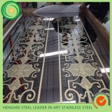 201 304 Stainless Steel Sheet Mirror Etching for Home Decoration Furniture Accessories