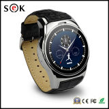 1.4′′ 400mAh High End Digital Watch Phone Bluetooth 4.0 Smart Watch with Heart Rate Monitor
