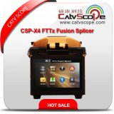 Catvscope High Performance Csp-X4 FTTX Optical Fiber Fusion Splicer