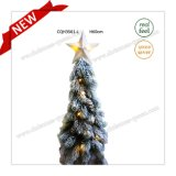 H60cm Prelit Table Christmas Tree Type Plastic Christmas Tree Craft