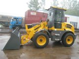 Big Radial Tire Articulated Wheel Loader (HQ917) with CE