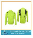 Fluorescent Green Cycling Jersey Shirt, Sport Wear