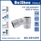 """1/4"""" Dr. Metric & SAE Socket (6PT) Cr-V"""