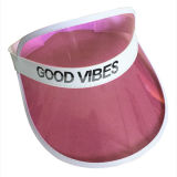 Custom Fashion Cheap Colorful PVC Sun Visor Hat