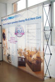 8feet Portable Exhibion Fabric Pop up Backdrop Wall Display Stand