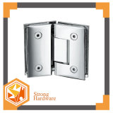 Durable Patch Fitting, Stainless Steel/Zinc Alloy/Brass Shower Hinge