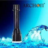100m Waterproof 1000lm LED Diving Scuba Flashlight Torch 26650+Charger