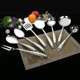 New Cooking Utensils Stainless Steel Turner Kitchenware Set