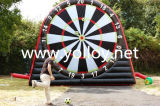 Inflatable Velcro Soccer Football Darts with Balls