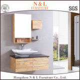 N&L Home Furniture Modern Style Solid Wood Bathroom Furniture
