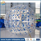 Newly Design TPU&PVC Inflatable Zorb Ball, Inflatable Soccer Zorbing Ball