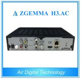 Original E2 Zgemma H3. AC Linux Combo DVB-S2+ATSC+IPTV Satellite Receiver