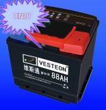 Korean 12V 75ah DIN75ah Maintenance Free Car Battery