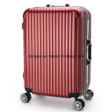 Factory Stock Hard Cover Trolley Case, Custom Various Colours PC Material Travel Luggage Bag with Wheels