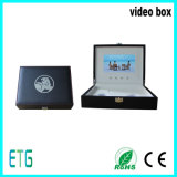 Leather 7 Inch Video Box for Cmyk Printing