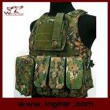 Airsoft Tactical Molle Military Combat Assault Vest Amphibious Nylon Vest