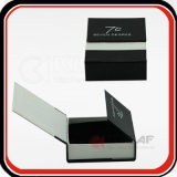 Top Grade Silver Hot Stamping Logo PU Gift Box