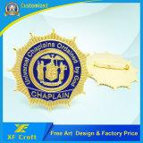 Manufacturer Making Souvenir Gift 3D Metal Medal Badge with Any Logo (XF-BG08)