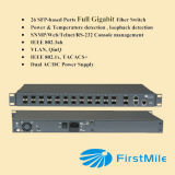 Full Gigabit Fiber Optic Ethernet Aggregation Switch