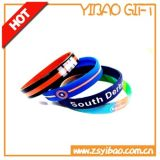 Custom Logo and Size Soprt Silicon Wristband/Bracelet