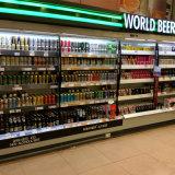 Supermarket Open Display Cooler/Beverage Refrigerator Showcase