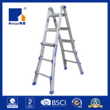 Two-Joint Multi-Purpose Aluminum Ladder for Various Working Conditions