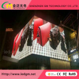 Outdoor Hang Wall, Full Color LED Video Wall/Screen Front Servies