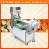 Root and Leafy Vegetabel Carrot Cube Cutting Slicing Machine for Restaurant Using (FC-301)