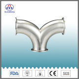 Sanitary Double Bend Clamp Elbow