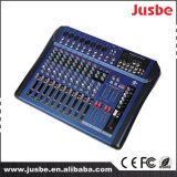 Jusbe Jb-L12 12 Channel DJ Music Professinoal Audio Mixer 48V Panton Power Supply USB