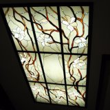Outside Ornate Decoration Feature Styles Stained Glass Panels Ceiling