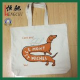 100% Cotton Canvas Shopping Tote Advertising Grocery Bag