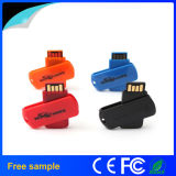 Free Shipping Mini Plastic UDP Swivel USB Flash Drive 2GB (JU130)