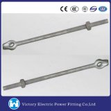 Straight Type Anchor Rod Anchor Bolt for Power Line Hardware