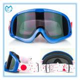 Adult Transparent Adjustable Anti Slip Strap Motorcycle Goggles