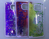 Mobile Phone Accessory Cell Phone Case 3D PC Liquid Sand Quicksand Case for Samsung S5/S6/S7 for Samsung J2/J4/J5/J7