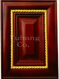 Solid Wood Kitchen Cabinet Door (#YJ-006)