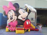 2016 Cheap Lovely Mouse Bouncy Jumping Castle for Kids