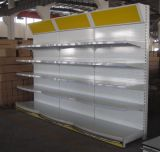 Yd-017 Modern Shelving Supermarket. Storage Display Shelf Rack with Circular Layer Board and Light Box Lowest Price (YD-017)
