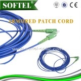 FTTH 4 Core Armored Sc Patch Cord Cable