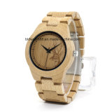 OEM Watch Bamboo Wooden Wrist Watch for Promotion Gift