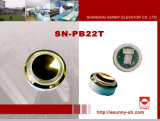 Color Optional Lift Push Button for Schindler (SN-PB22T)