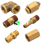 100% Tested High Quality Brass Pneumatic Fittings