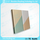 4000mAh Portable Charger Rectangle Double Tone Colour Power Bank (ZYF8072)