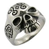 Custom Stainless Steel Skull Biker Rings