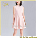 Dress Women Pink Sleeveless Dress for Wholesale